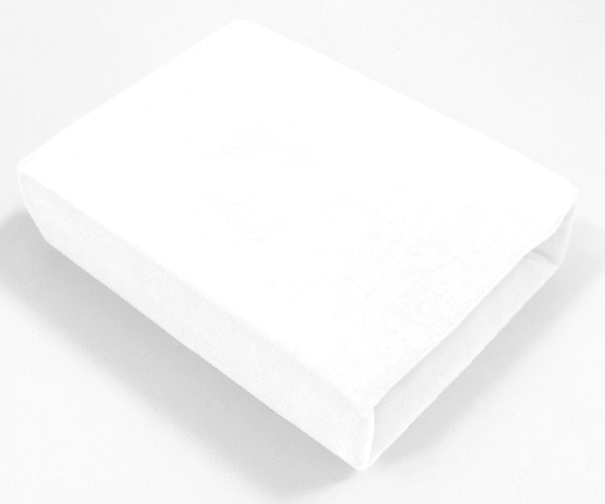 4sleep froté prostěradlo nepropustné 70x160cm, bílé