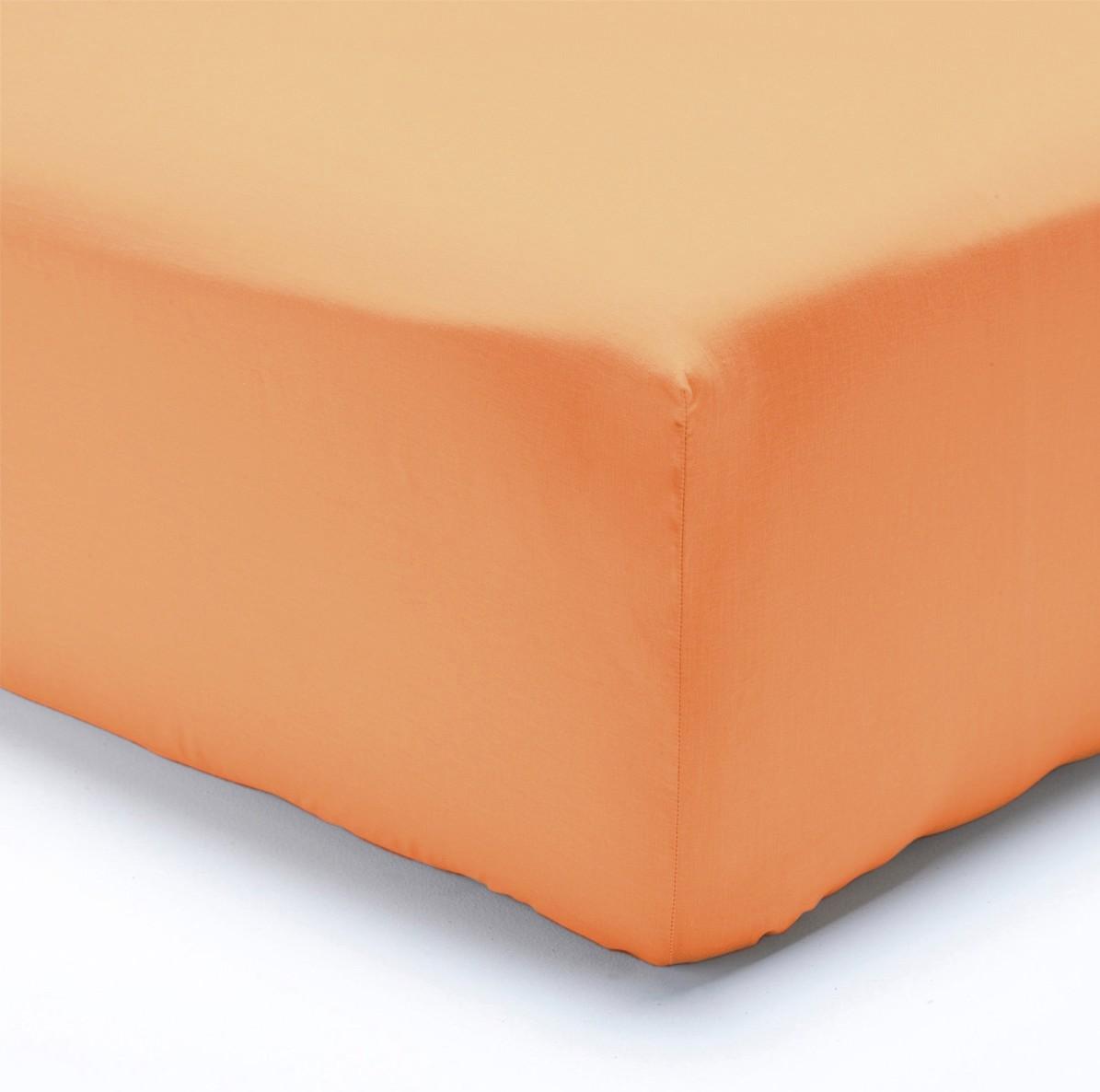 Polášek jersey prostěradlo 70x160cm, lososové