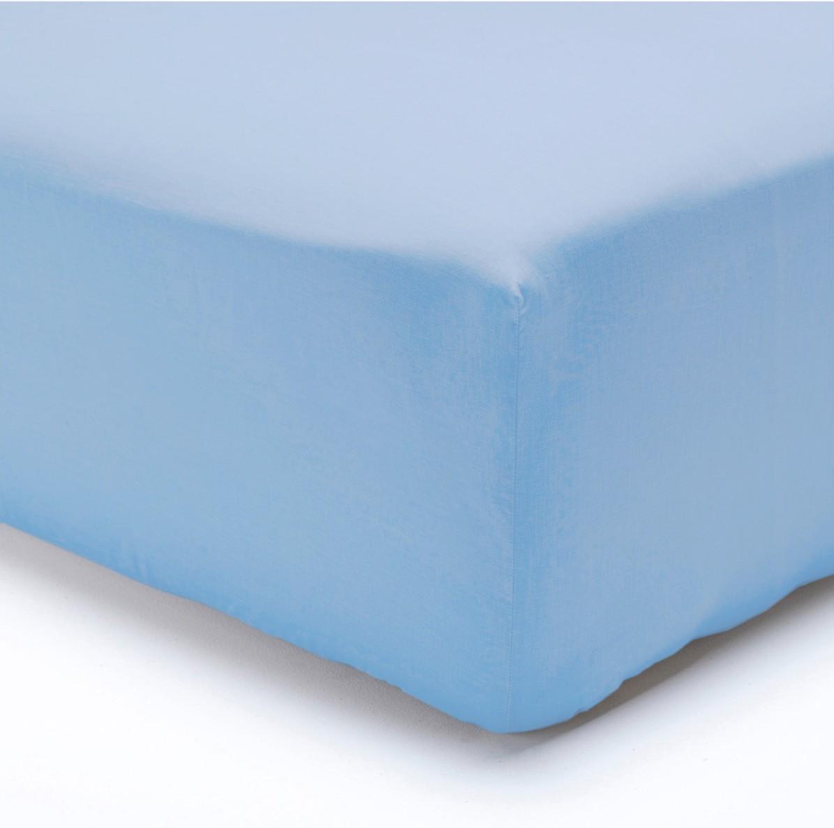 Polášek jersey prostěradlo 70x160cm, světle modré