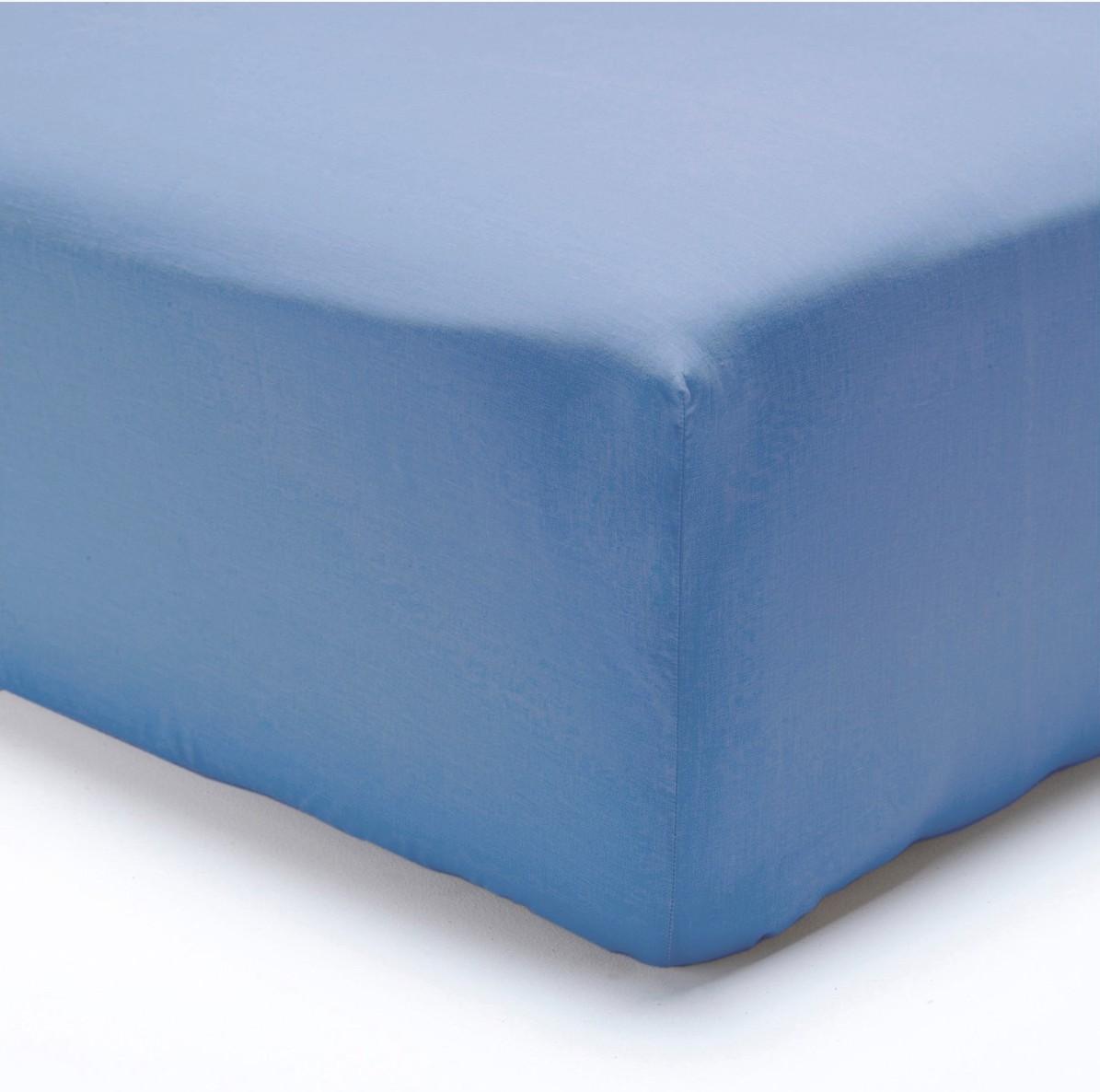 Polášek jersey prostěradlo 70x160cm, nebesky modré