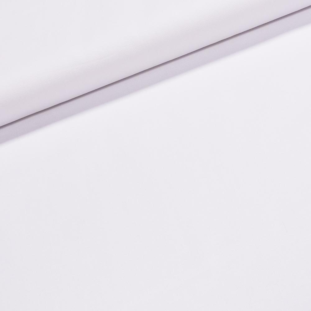 Bavlněný kepr BERK jednobarevná bílá, š.150cm (látka v metráži)