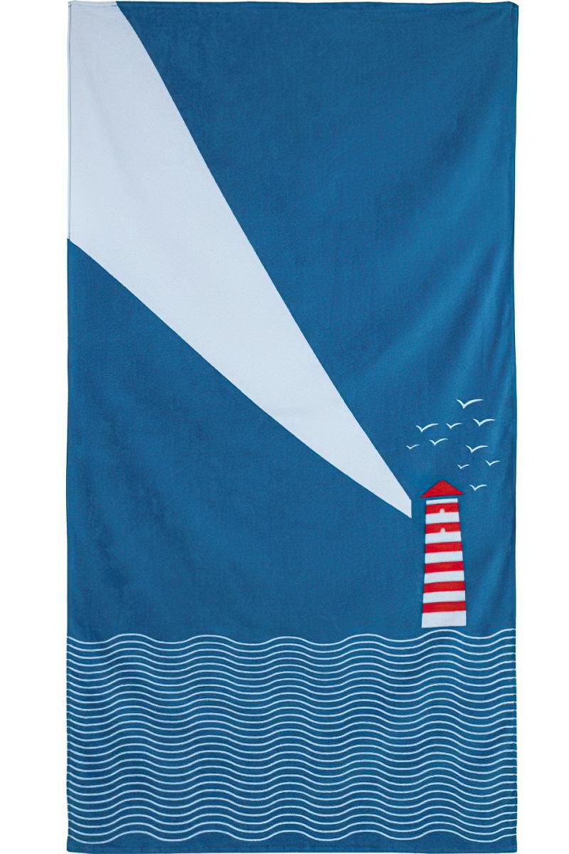 JULES CLARYSSE Dětská plážová osuška MAJÁK froté, 70x140cm