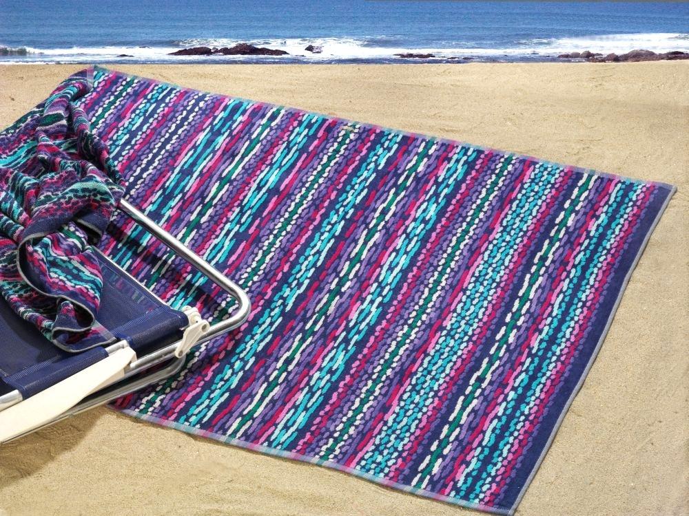 Greno plážová osuška PAROS froté, 95x185cm
