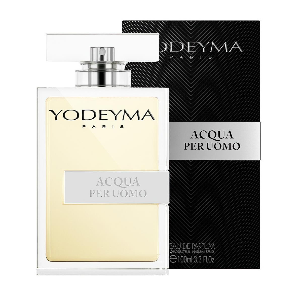 Yodeyma pánský parfém ACQUA PER UOMO Eau de Parfum, chyprová – svěží, 100ml