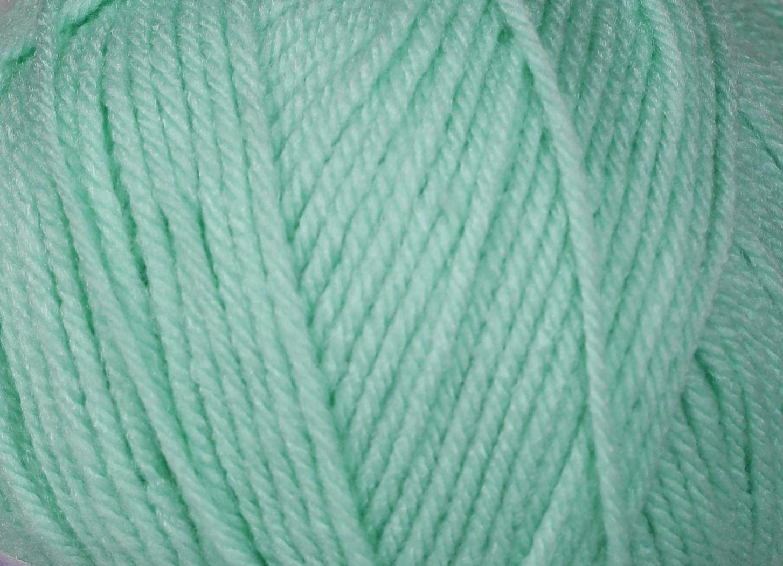 Pletací příze Vlnika BABETA 27 světle zelená, klasická, 100g/320m