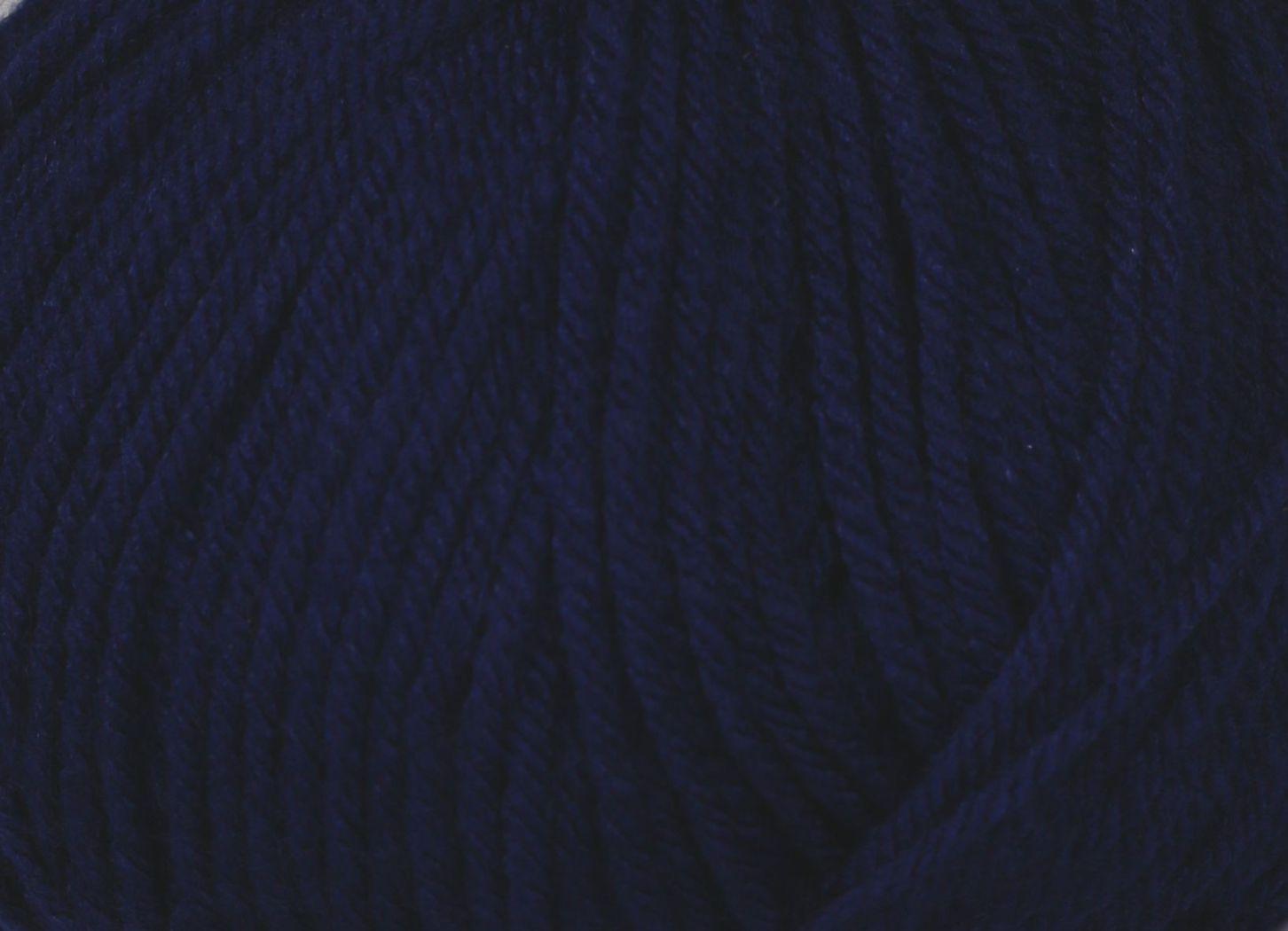 Pletací příze Vlnika BABETA 42 tmavě modrá, klasická, 100g/320m