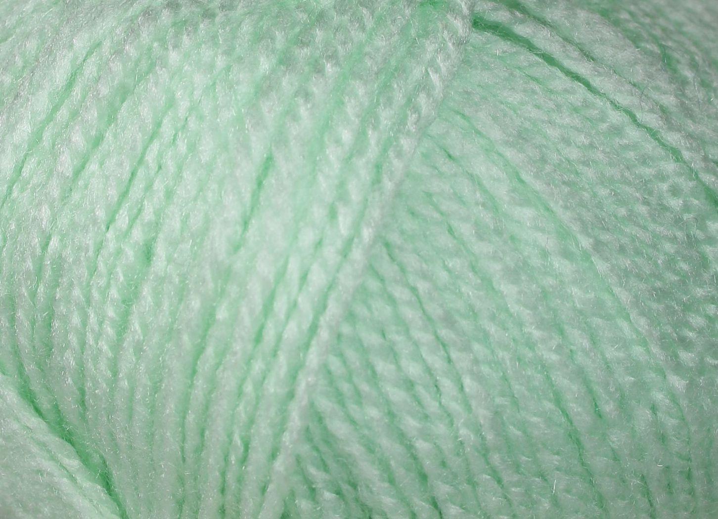 Pletací příze Vlnika TERA 224 světle zelená, klasická, 100g/310m