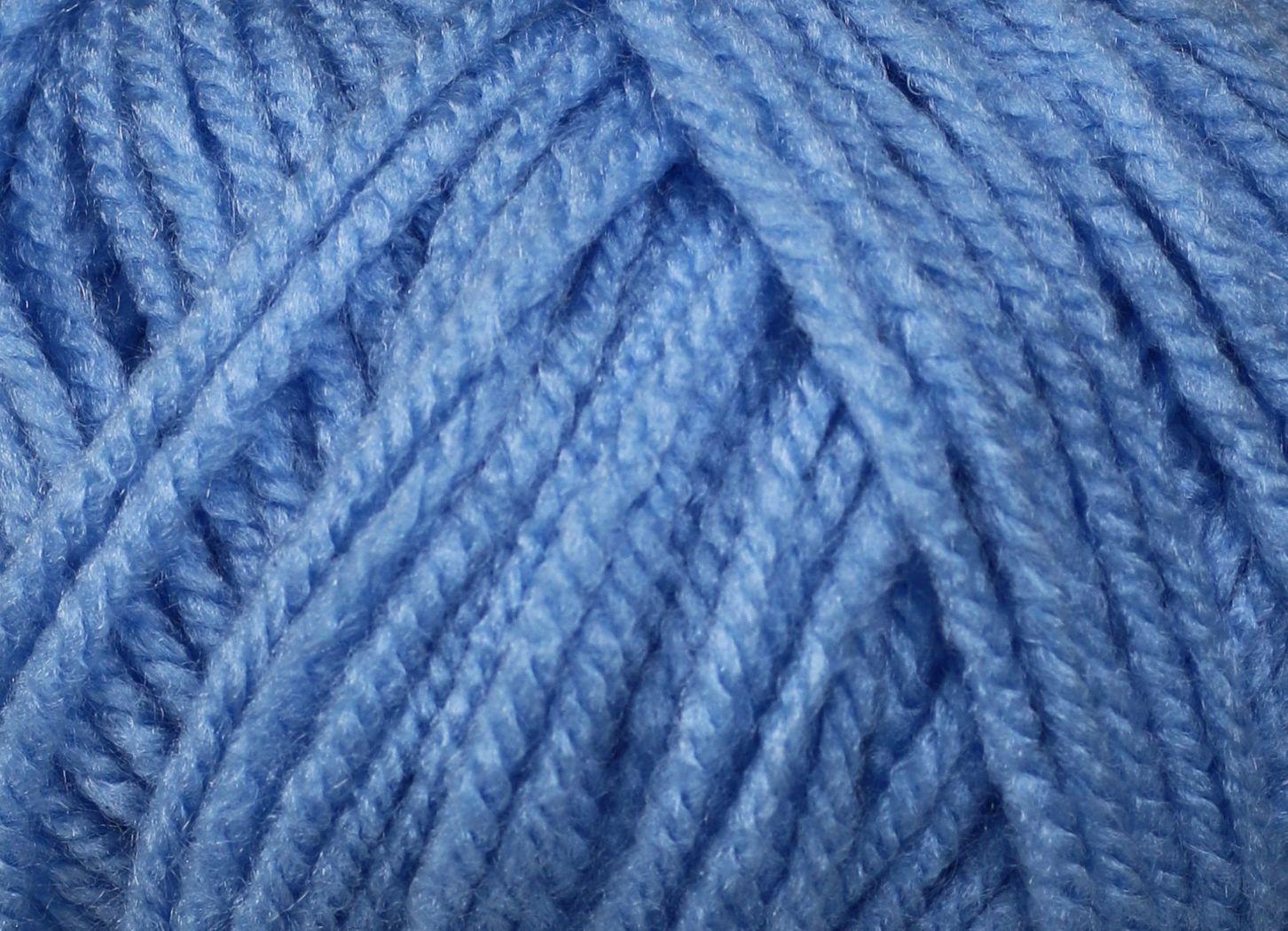 Pletací příze Vlnika XANTYPA 451 světle modrá, klasická, 100g/200m
