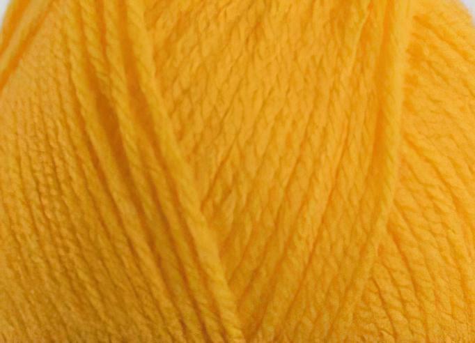 Pletací příze Vlnika XANTYPA 470 žlutá, klasická, 100g/200m
