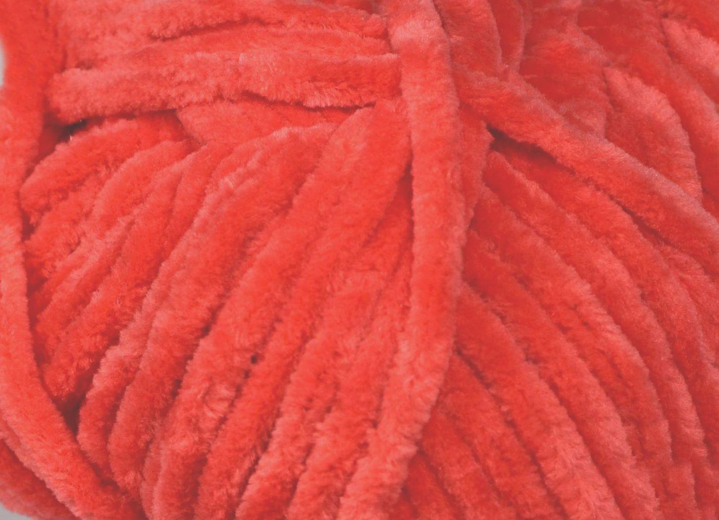 Pletací příze YarnArt DOLCE 755 tmavě oranžová, efektní, 100g/120m