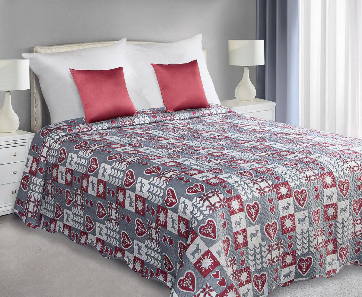 4sleep Přehoz na postel WINTER 01 , 220x240cm, dvoulůžkový