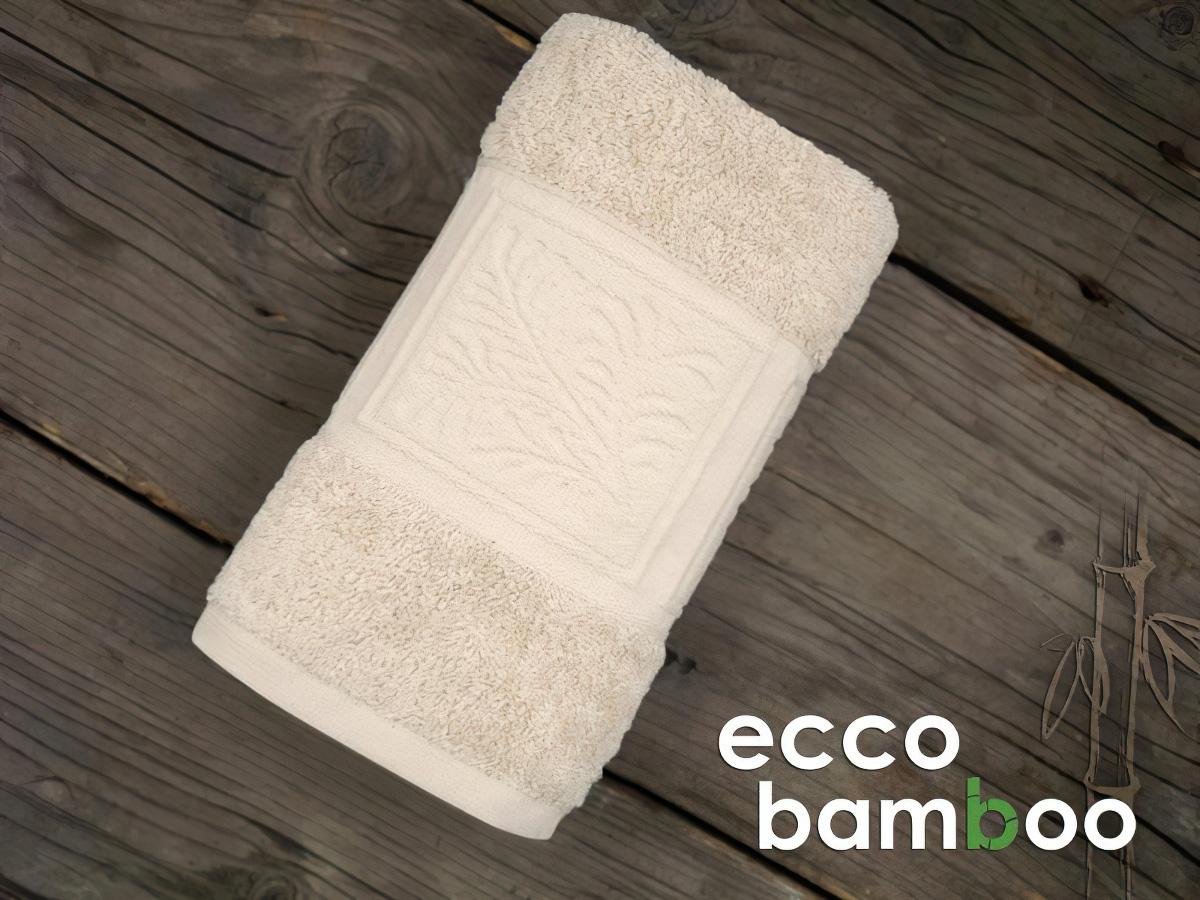 Greno froté osuška ECCO BAMBOO, béžová, 70x140cm