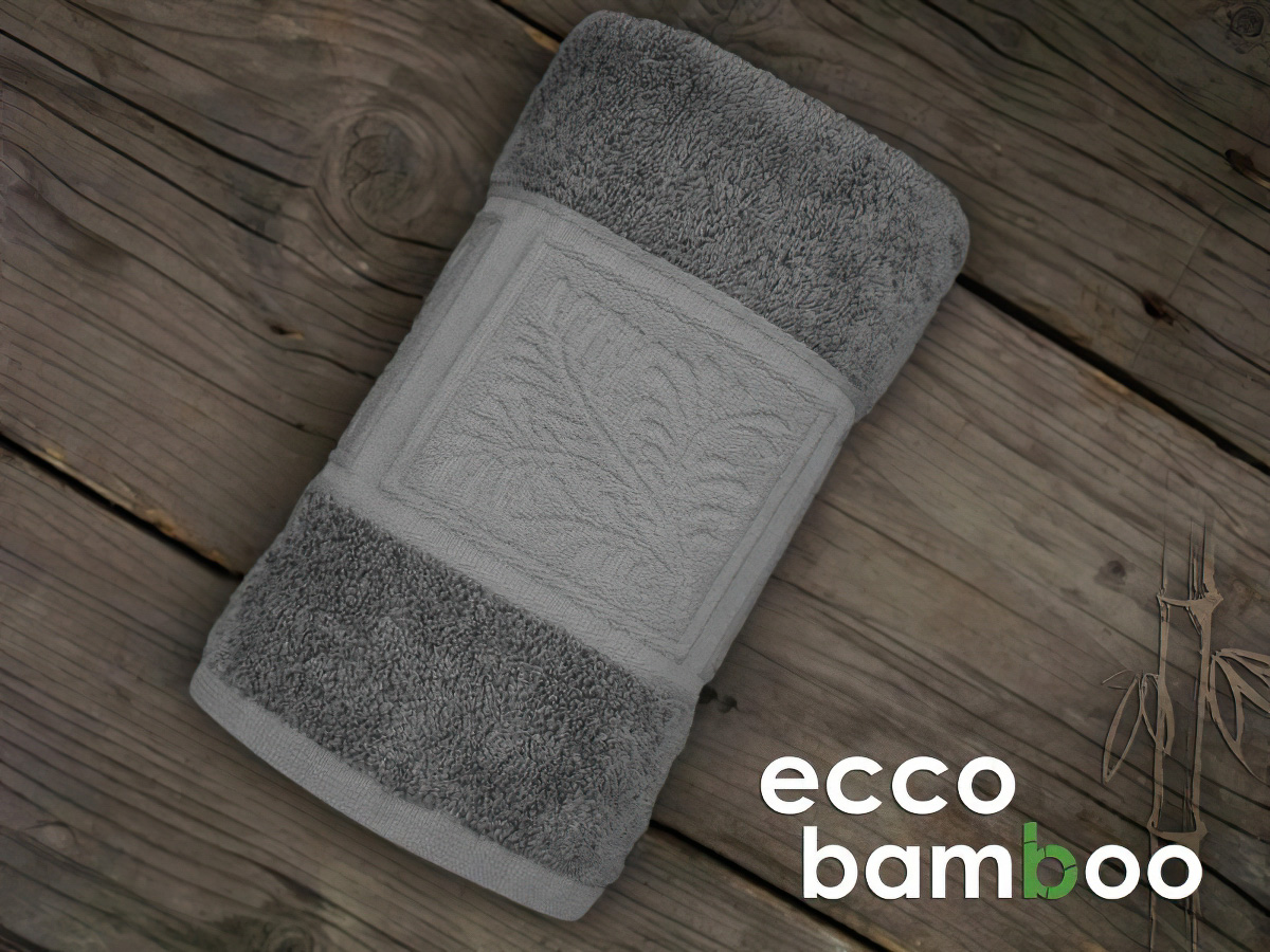 Greno froté osuška ECCO BAMBOO, šedá, 70x140cm