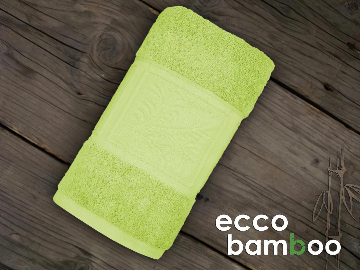 Greno froté osuška ECCO BAMBOO, zelená, 70x140cm