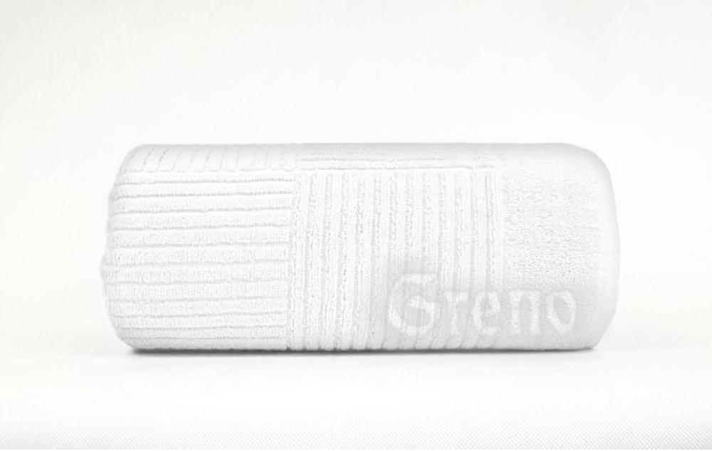 Greno froté ručník ENIGMA bílá 50x100cm