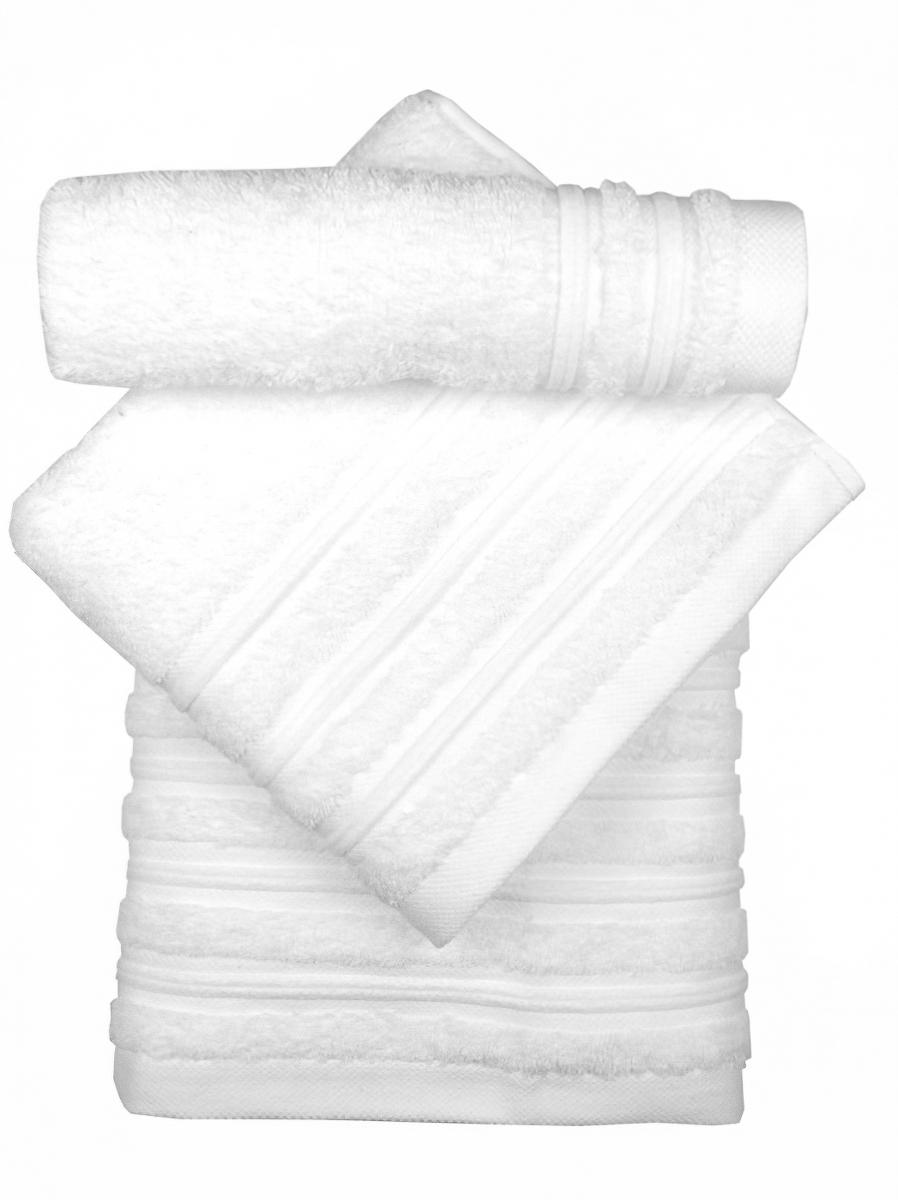 Ziplar froté ručník PORTO, bílá 07, 30x50cm
