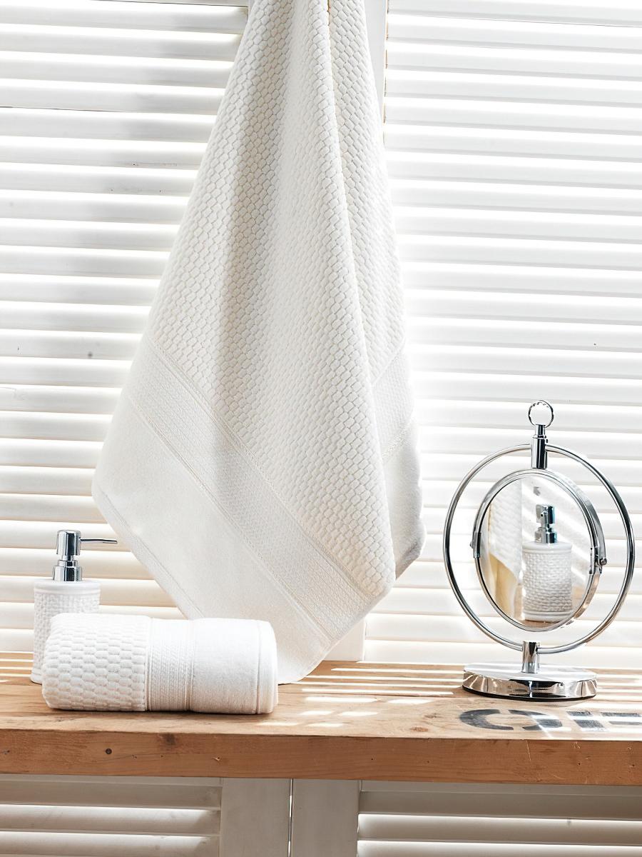 Matějovský Froté ručník OMEGA, velur, bílá, 50x90cm