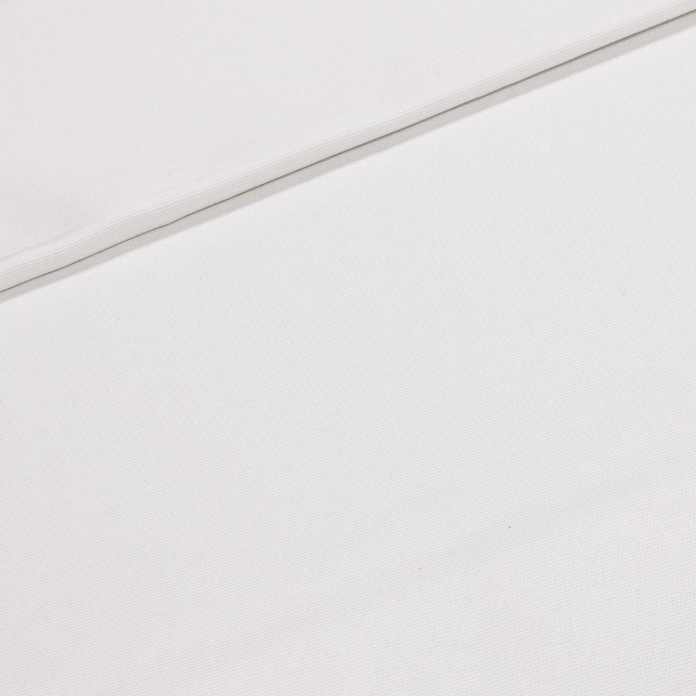 Směsové plátno UNI jednobarevná bílá, š.140cm (látka v metráži)