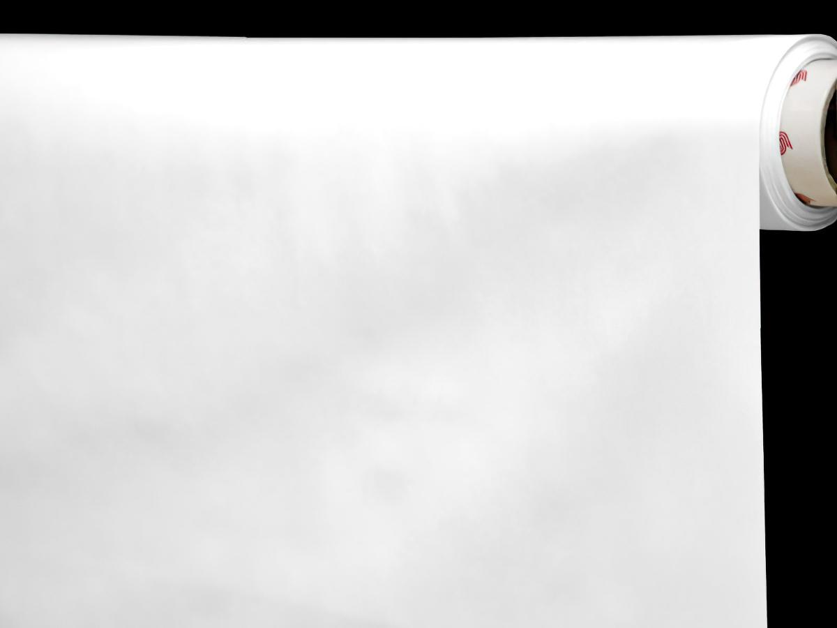 Ergis Ubrus PVC s textilním podkladem Uni, bílá, š.140cm (metráž)
