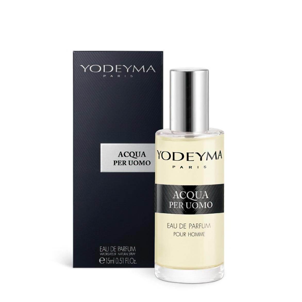 Yodeyma pánský parfém ACQUA PER UOMO Eau de Parfum, chyprová – svěží, 15m