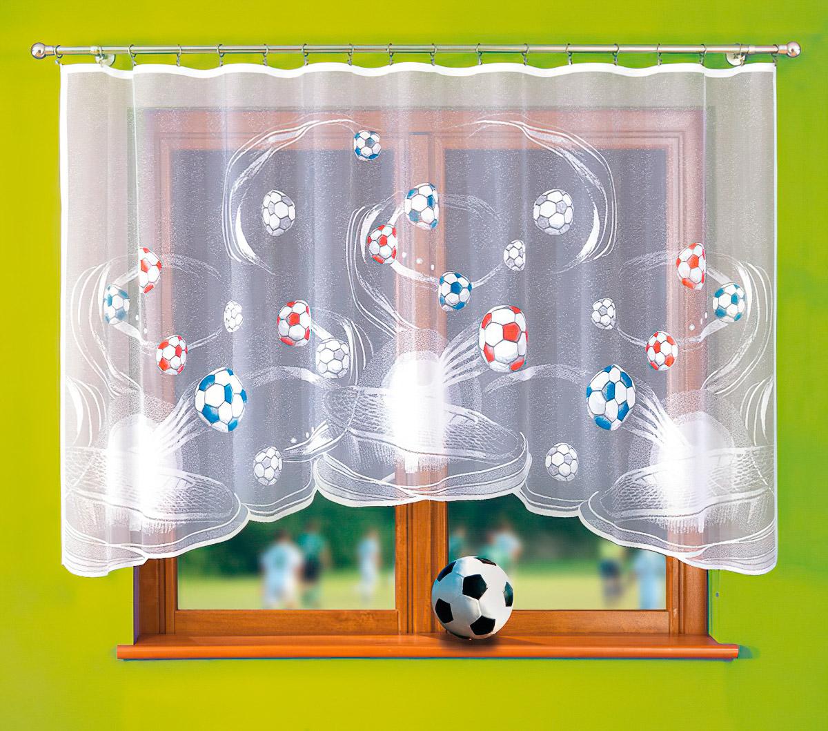 Forbyt kusová záclona VIKTOR vícebarevná, výška 150 cm x šířka 300 cm (na okno)